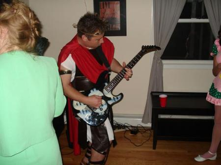 Shampain lead guitarist!