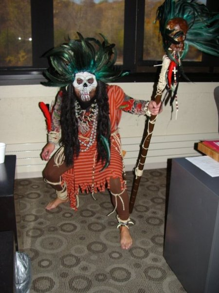 Giggy the Witch Doctor!