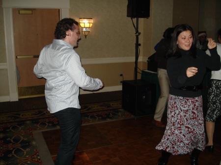 Bill lives on the dance floor.  He's my next Dance Off victim...