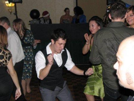 ...Still trying to out-dance me.  tisk tisk.