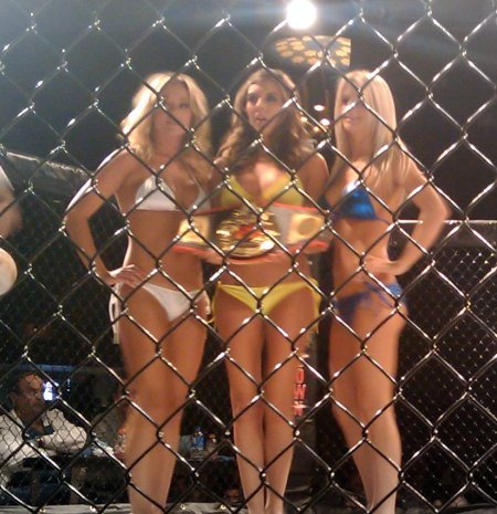 Hooters Ring Card Girls with the Lonestar Title
