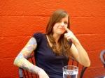 Katie at brunch