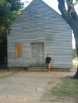 mike by the barn where they signed the tx declaration