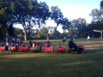 only in tx is the kids train an oldlawnmower