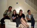 Mom, Katie, Missy,Alaina