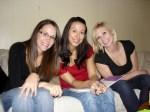 Ashley, Kim, andAngela